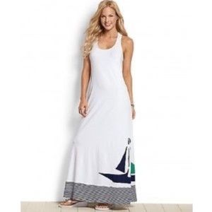 NWT Tommy Bahama Sailboat Maxi Dress Size XS